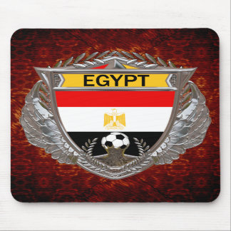 Egyptian Soccer Team Mouse Pads