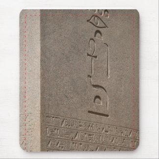 Egyptian Stone Obelisk Mouse Pad