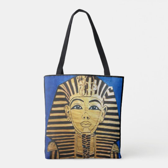 """Egyptian Style"" All-Over-Print Tote Bag"