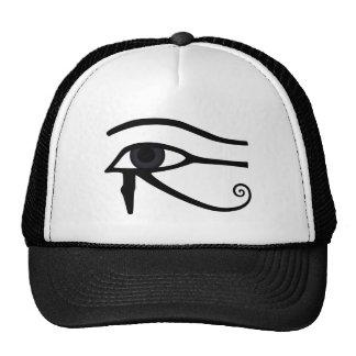Egyptian Style - Eye of Horus Mesh Hats