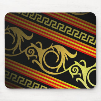 Egyptian Style Tribal Pattern Mouse Pad