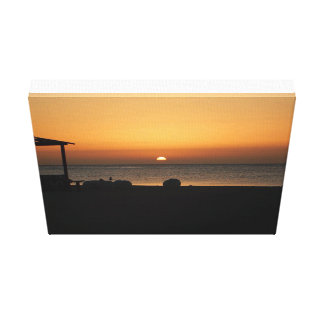 Egyptian Sunset Canvas Print