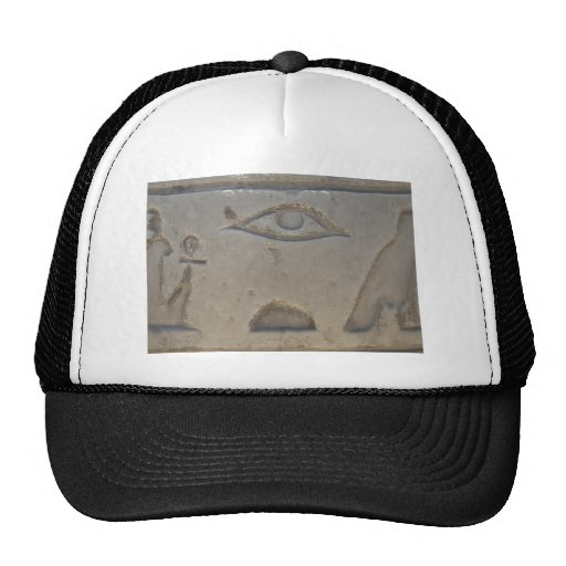 Egyptian Symbol -  Eye of Horus Trucker Hats