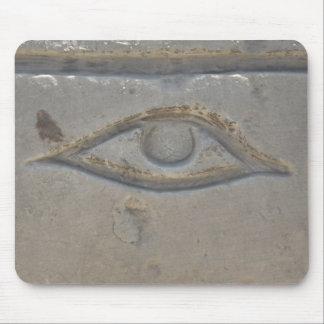 Egyptian Symbol -  Eye of Horus Mouse Pad