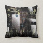 Egyptian Symbols Pillow