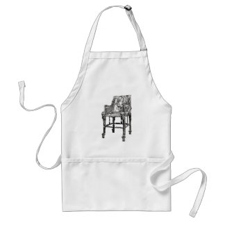 Egyptian Throne chair Aprons