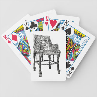 Egyptian Throne chair Bicycle Card Decks