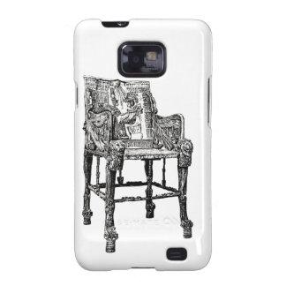 Egyptian Throne chair Galaxy S2 Case