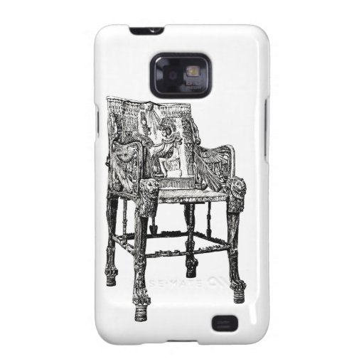 Egyptian Throne chair Galaxy S2 Case
