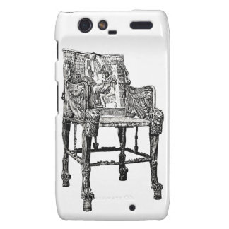 Egyptian Throne chair Droid RAZR Covers