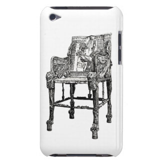 Egyptian Throne chair iPod Touch Covers