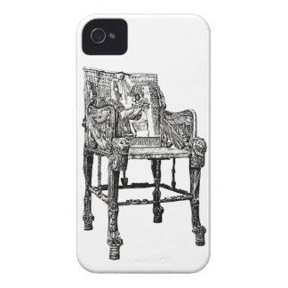 Egyptian Throne chair iPhone 4 Cover