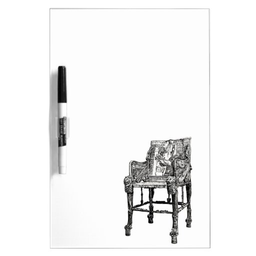 Egyptian Throne chair Dry-Erase Boards