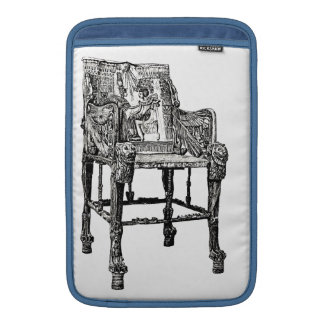 Egyptian Throne chair MacBook Air Sleeve