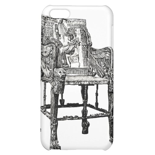 Egyptian Throne chair iPhone 5C Cases