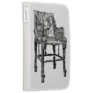 Egyptian Throne chair Kindle Cover