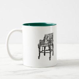 Egyptian Throne chair Mug