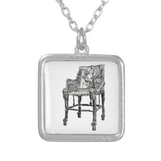 Egyptian Throne chair Necklaces