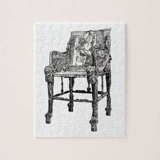 Egyptian Throne chair Jigsaw Puzzles