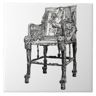 Egyptian Throne chair Tiles