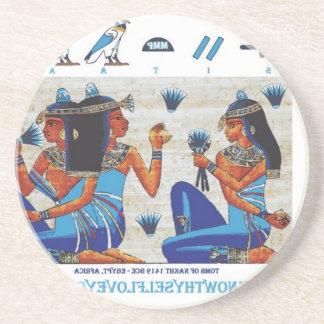 Egyptian tomb of Nakht Coaster