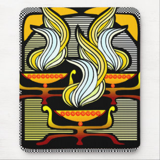 EGYPTIAN TORCH MOUSE PAD