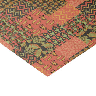 Egyptian Tribal Faux Patchwork Tissue Paper Sheet