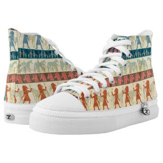 Egyptian Unicorn Pattern Printed Shoes