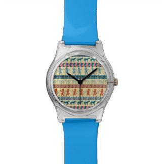 Egyptian Unicorn Pattern Watch