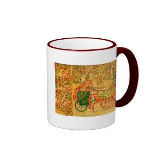 Egyptian Wall Art Coffee Mug