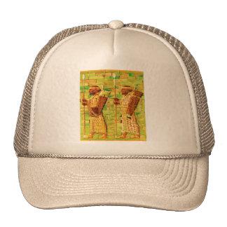 Egyptian Wall Art Mesh Hat