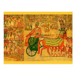 Egyptian Wall Art Post Card