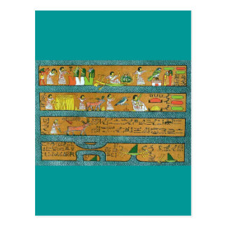 Egyptian Wall Art Postcard
