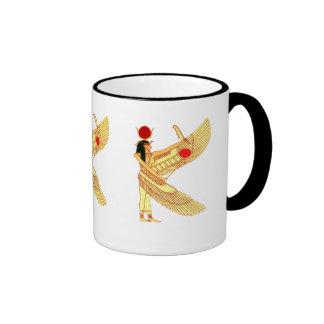 Egyptian Wall Art Ringer Mug