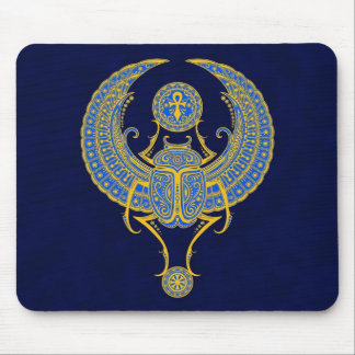 Egyptian Winged Scarab Mouse Mat
