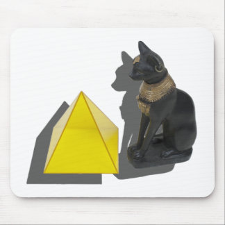 EgyptianCatPyramid021411 Mouse Pad