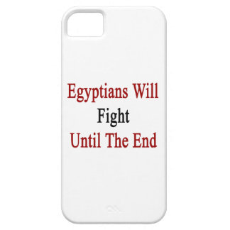 Egyptians Will Fight Until The End Case For iPhone 5/5S