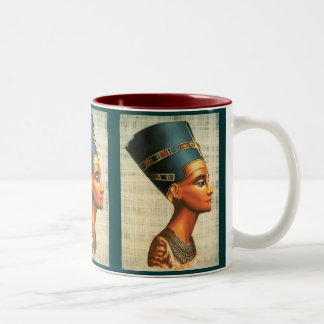 Egyptica Two-Tone Coffee Mug