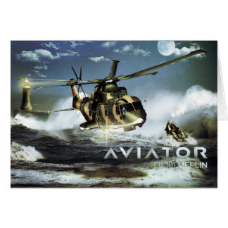 EH 101 MERLIN Helicopter Card