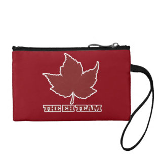 Eh canada day humor coin purse