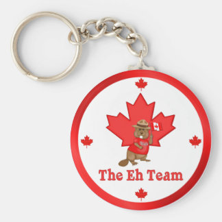 Eh Team Beaver Key Ring
