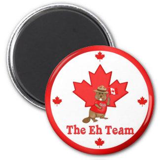 Eh Team Beaver Magnet