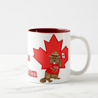 Eh Team Beaver Two-Tone Coffee Mug