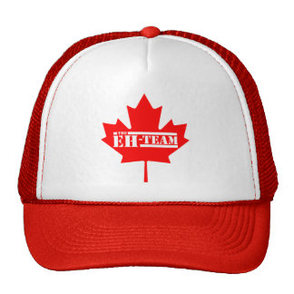Eh Team Canada Maple Leaf Cap