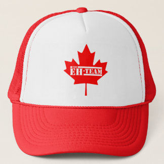 Eh Team Canada Maple Leaf Trucker Hat