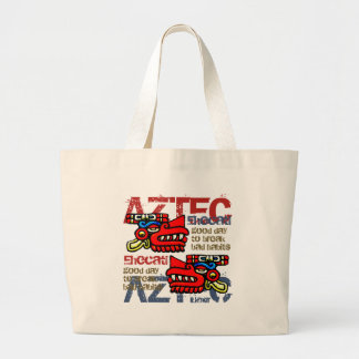 Ehecatl - Aztec Gifts Greetings Canvas Bags