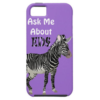Ehlers-Danlos EDS I'm a Zebra Awareness Ribbon iPhone 5 Case