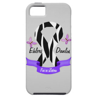 Ehlers-Danlos EDS I'm a Zebra Awareness Ribbon iPhone 5 Cover
