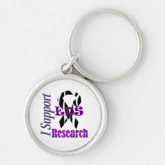 Ehlers Danlos EDS Research Supporter Key Ring