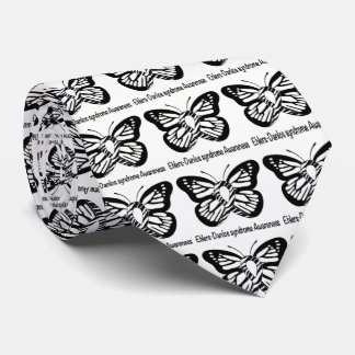 Ehlers-Danlos Syndrome Butterfly of Hope Tie